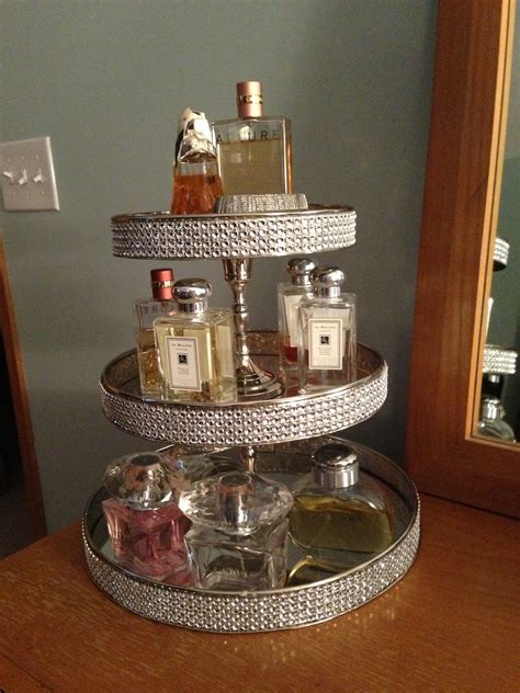 Diy Perfume Organizer For Dresser