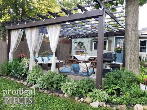 Diy Pergola Peices