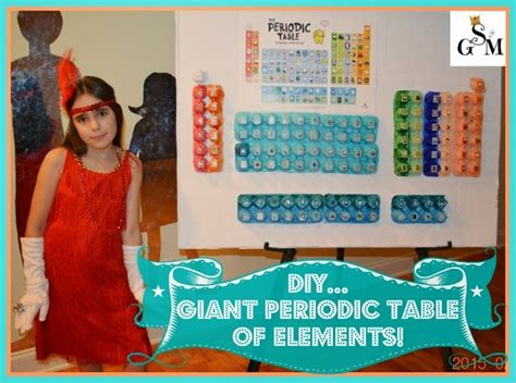 Diy Periodic Table Of Elements