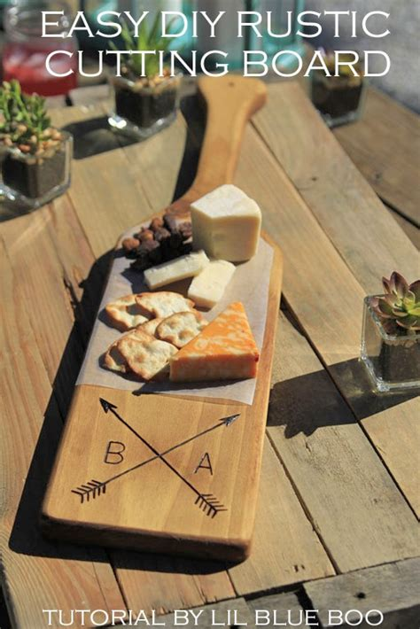 Diy Personalized Wood Cutting Board