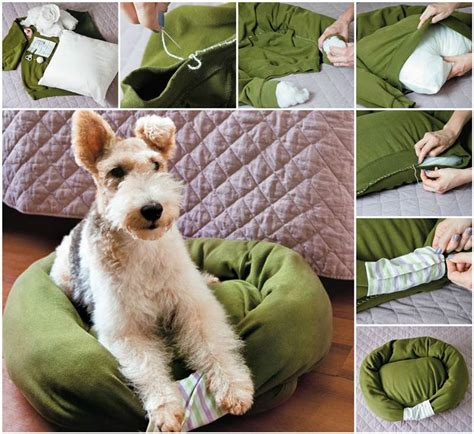 Diy Pet Bed From Sweater Dresses