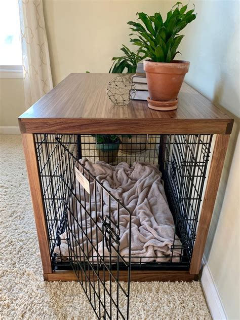 Diy Pet Crate Wood Cover