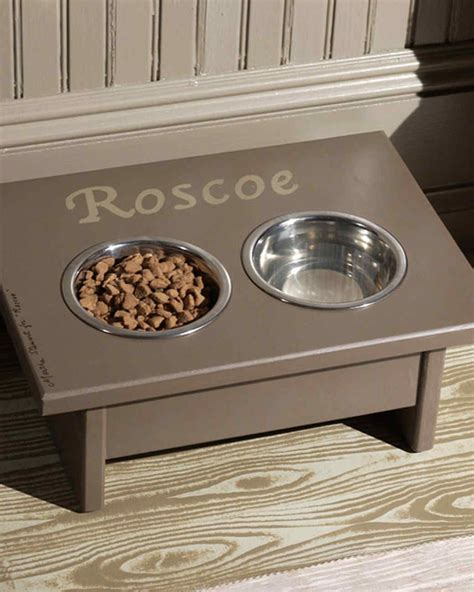 Diy Pet Food Station For A Giant