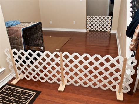 Diy Pet Gate Lattice