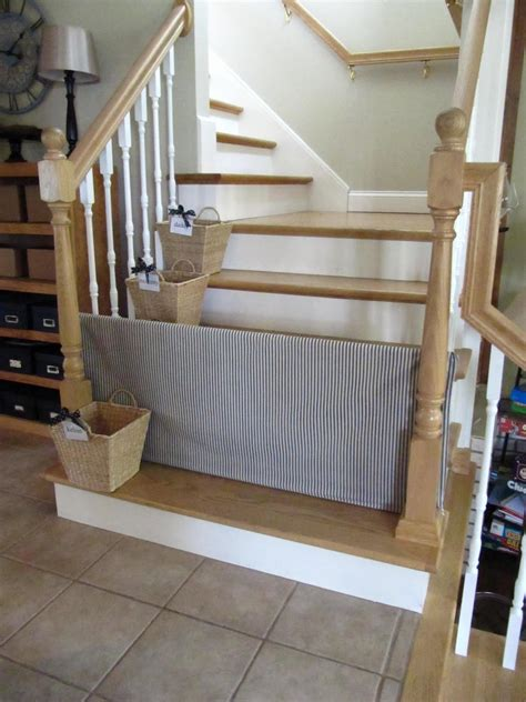 Diy Pet Gate Stairs