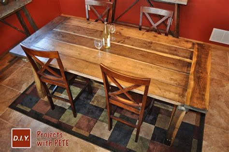 Diy Pete Farm Table Plans