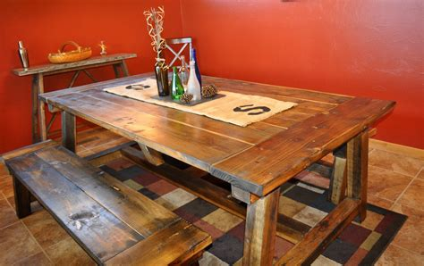 Diy Pete Farmhouse Table And Bench