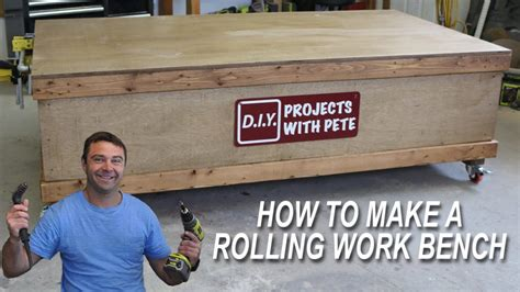 Diy Pete Rolling Workbench