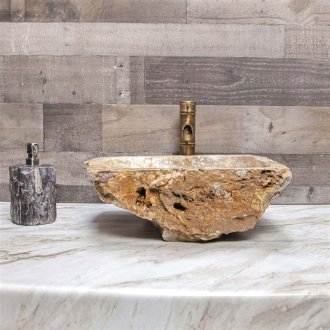 Diy Petrified Wood Sink