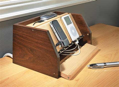 Diy Phone Charging Station Plans