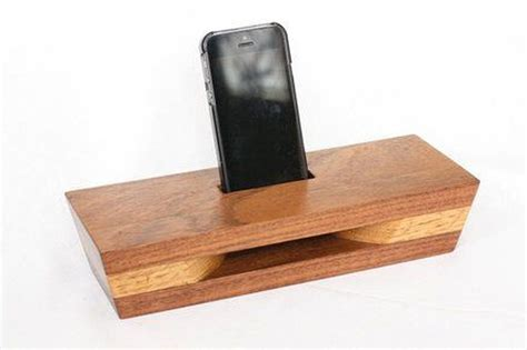 Diy Phone Speaker Amplifier Wood