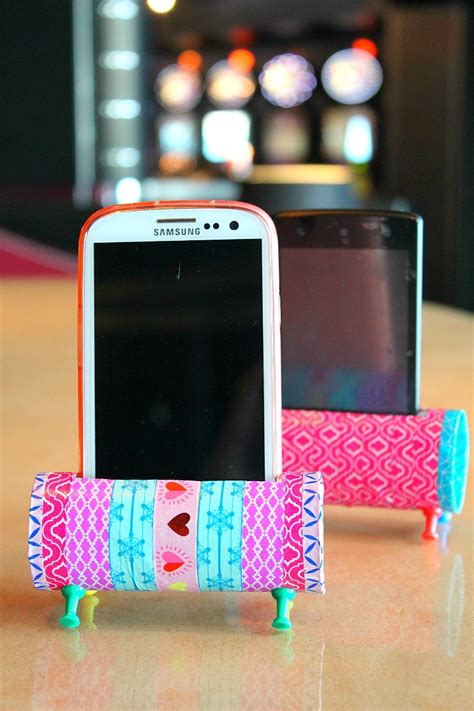 Diy Phone Stand Out Of Paper