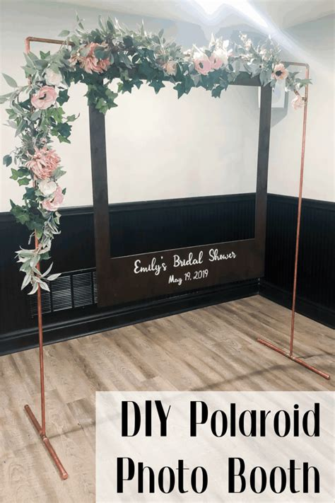 Diy Photo Booth Frame Dimensions