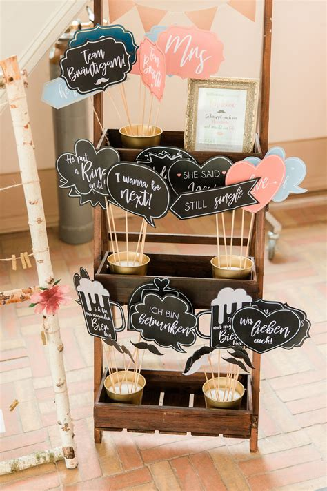 Diy Photo Booth Table