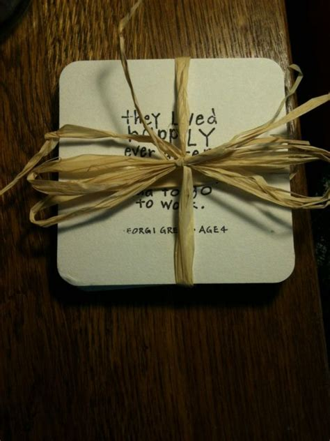 Diy Photo Coasters For Wedding Favors