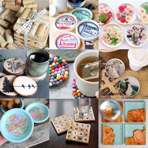 Diy Photo Coasters Heat Proof And Waterproof