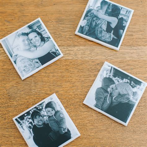 Diy Photo Coasters Mod Podge
