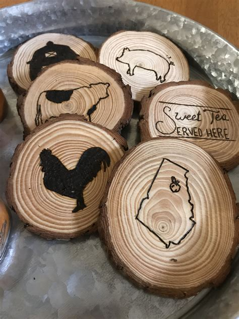 Diy Photo Coasters Wood