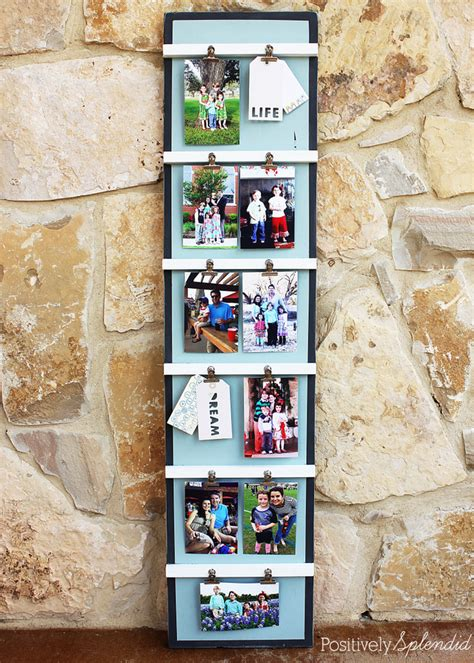 Diy Photo Display Lots Of Photos