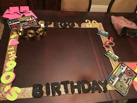 Diy Photo Frame For Birthday