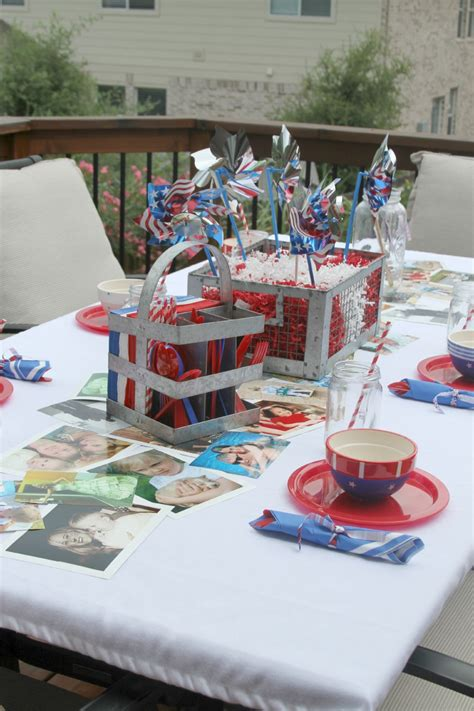 Diy Photo Table Runners
