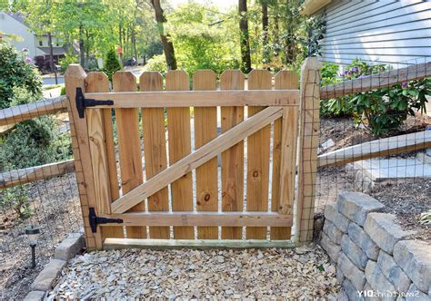 Diy Picket Fence Gate Plans