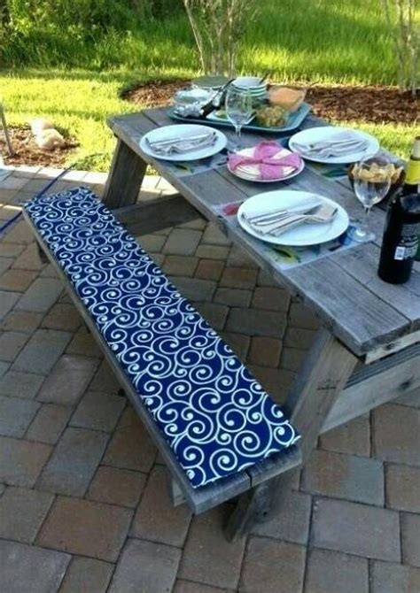 Diy Picnic Table Bench Covers