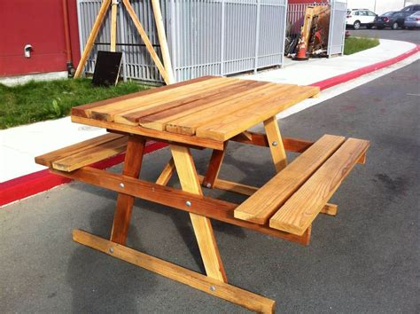 Diy Picnic Table Mover Plans