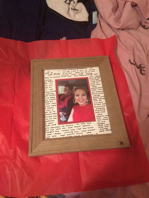 Diy Picture Frame For Boyfriend