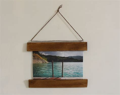 Diy Picture Frame No Glass