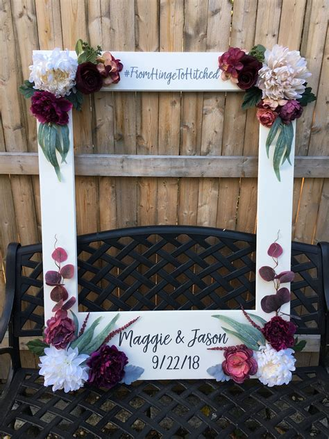 Diy Picture Frame Prop