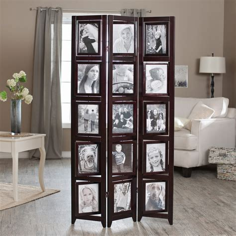 Diy Picture Frame Room Divider