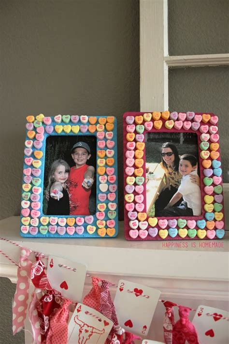 Diy Picture Frame Valentines Day Chocolates