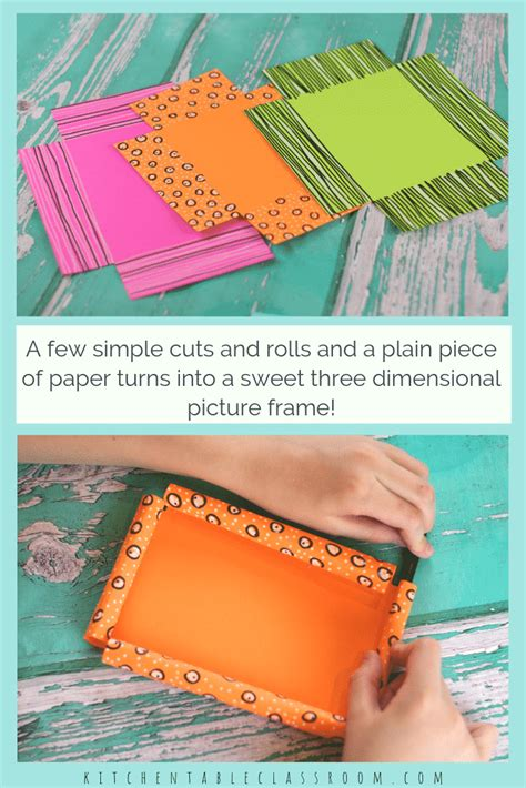 Diy Picture Frames Pinterest Out Of Paper