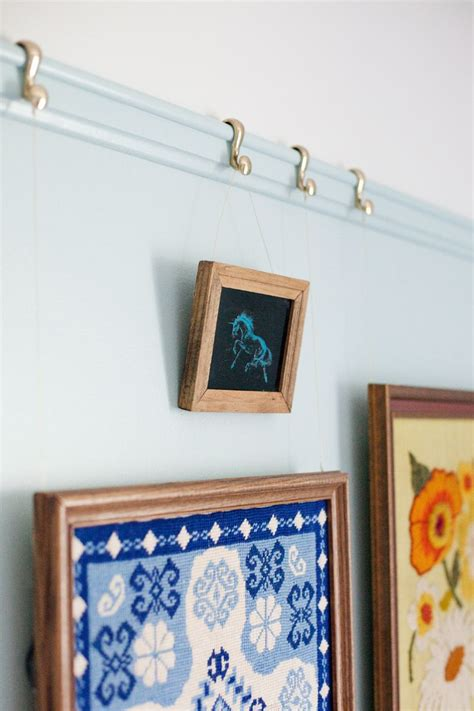 Diy Picture Hanging Rail Moulding