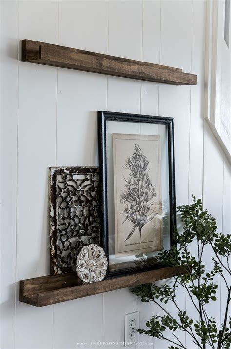 Diy Picture Ledge Shelf Youtube