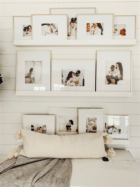 Diy Picture Ledges On Wall