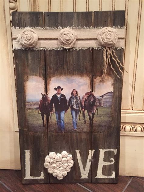Diy Picture Transfer On Rough Wood Wood