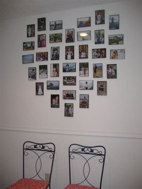Diy Picture Wall Heart