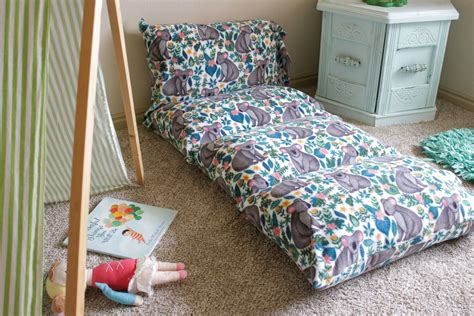 Diy Pillow Bed Mat For Child