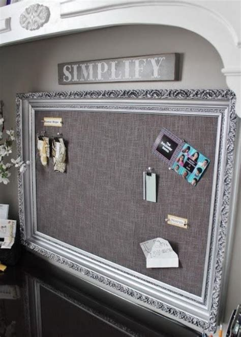Diy Pin Board With Wood