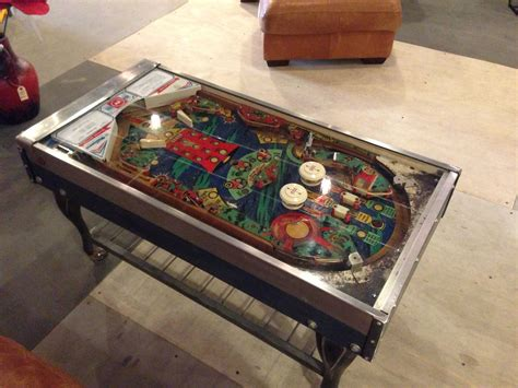 Diy Pinball Coffee Table