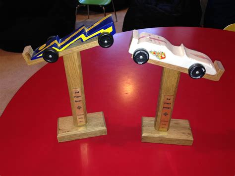 Diy Pinewood Derby Stand
