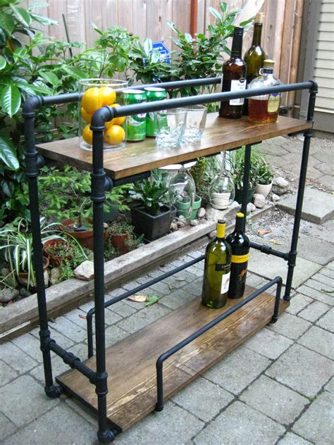 Diy Pipe Bar Cart Plans