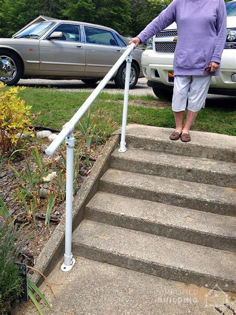 Diy Pipe Handrails For Outside Steps