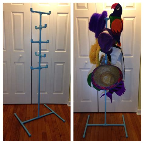 Diy Pipe Hat Stand