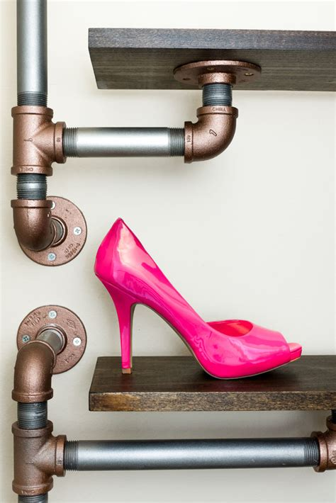 Diy Pipe Rack Casters For Furniture