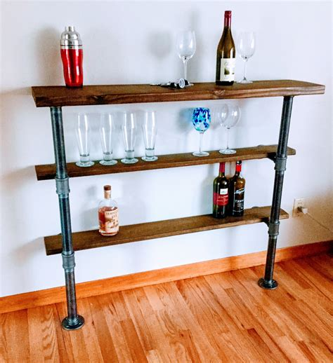 Diy Pipefitted Shelves
