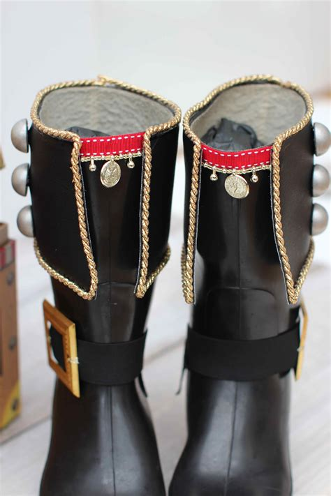 Diy Pirate Boots Adults