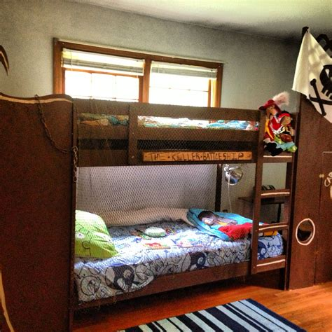 Diy Pirate Bunk Bed